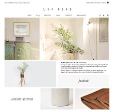 www.luanord.com Web design