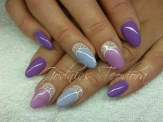 purple by Teodora77 - Nail Art Gallery nailartgallery.nailsmag.com by Nails Magazine www.nailsmag.com #nailart