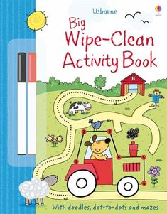 Big wipe-clean activity book -www.WiseOwlKids.com