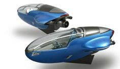 Striking Submersibles - Aqua Compact Watercraft Ready to Dive in Future Underwater Cities (GALLERY)