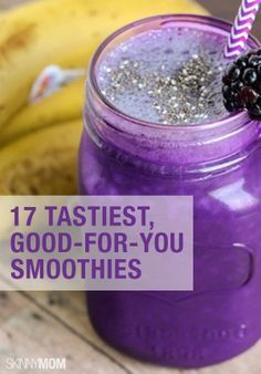 You're going to LOVE these healthy smoothie recipes.