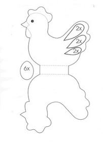 Here is an easter paper craft and a coloring page for you to enjoy. With the paper craft you can print, colour and cut out an Easter hen to. Easter Templates, Easter Printables, Easter Colouring, Colouring Pages, Easter Activities, Easter Crafts For Kids, Diy And Crafts, Paper Crafts, Activity Sheets