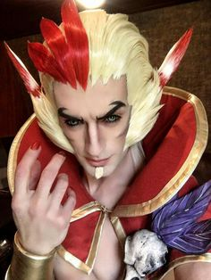 Rakan cosplay perfeito. League of legends