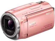 Sony Full HD video camera HDR-CX670-P HANDYCAM 32GB Pink F/S New #Sony