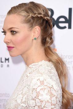 a2d091b6b1a718 Esmeralda earrings Hair Dos, Loose Ponytail, Hair Ponytail, Braided  Ponytail, French Braids