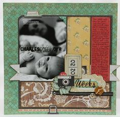 Glue Meets Paper: Favorite Layouts of 2011 and a New Header