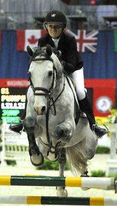 Pumped Up Kicks & Lillie Keenan - 2013 Washington International Horse Show Photo Gallery Browser