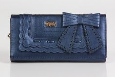 Call Me Lady Wallet in Navy Pearl $27