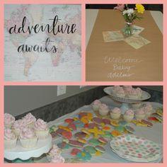 Adventure Awaits Baby Shower Theme At Cornerstone Meeting U0026 Event Center! Baby  Shower ThemesShower IdeasMeeting RoomsColumbus OhioAdventure Awaits
