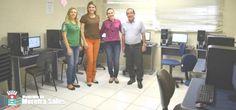 Biblioteca Cidadã recebe novo Telecentro para Cursos de Informática em Moreira Sales