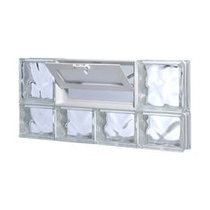 glass block window vent replacement turbovisas redi2set wavy glass pattern frameless replacement block window rough opening 24in 12in actual 2325in basement dryer window venting
