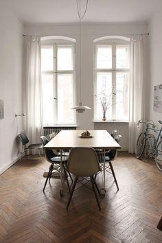 Mid-century modern minimalism