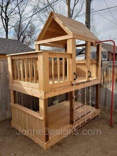 Under $2,000 Simple Playhouse, Playhouse Outdoor, Backyard Playground, Backyard For Kids, Build A Swing Set, Yard Games, Treehouses, Playgrounds, Diy Patio