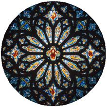 The geometry of the rose window at St. John's Cathedral