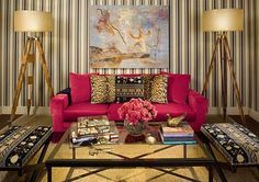 dream home 2010 sitting room by: Monica Pedersen & Becky McCallum