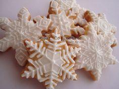 White Christmas Snowflakes
