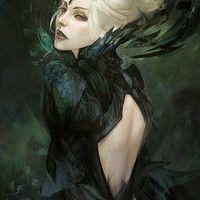 Commission, dark priestess by skyzocat on deviantart fantasy art: the women Dark Fantasy Art, Fantasy Women, Fantasy Girl, Fantasy Artwork, Dark Art, Fantasy Witch, Fantasy Story, Fantasy Inspiration, Character Inspiration