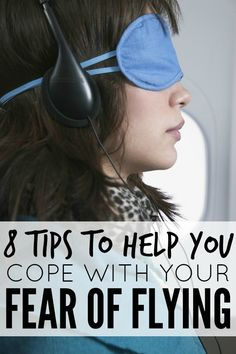 If the mere thought of boarding an airplane gives you or your little one butterflies in your tummy, this list of tips to help you cope with your fear of flying is just what you need to make air travel more manageable.