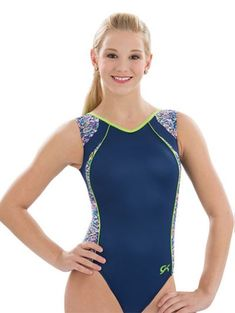 Shine Sleeveless Gymnastic Leotard Adidas Leotards 1027680648b