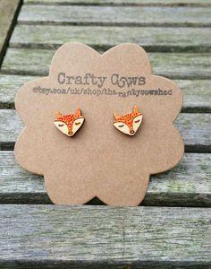 Wooden Sleeping Foxes Earrings, $8.70. https://www.etsy.com/listing/199715539/wooden-sleeping-fox-face-earrings-fox?ref=sr_gallery_4&ga_search_query=fox&ga_search_type=all&ga_view_type=gallery