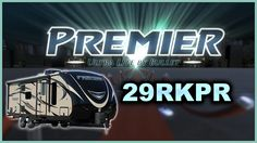 2017 Keystone Premier 29RKPR Travel Trailer Lakeshore RV Find out more at https://lakeshore-rv.com/keystone-rv/premier/2017-premier-29rkpr-floor-plan/?pr=true call 231.788.2040 or stop in and see one today!  Lakeshore RV  Premier 29RKPR Home is where you park it in the Premier 29RKPR!  The power tongue jack lets you get hitched and unhitched quick and easy so you can get to the important things sooner!  Bring along your camp chairs fishing gear and other equipment in the convenient pass thru…