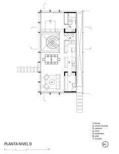 ASIA House,Plan Level 0