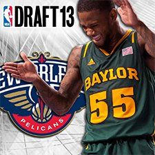 #Baylor's Pierre Jackson, selected No. 42 overall in the 2013 NBA Draft. In the last 4 years, only 6 schools -- UK, KU, Duke, UNC, Syracuse & UT -- have more #NBAdraft picks than #Baylor. #SicEm