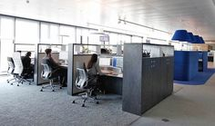 Teknion district workstations pinterest office - Evo bank oficinas ...