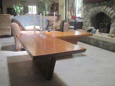 Custom Made L Shaped Coffee Table