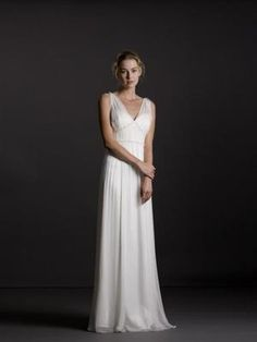 used beach wedding dress