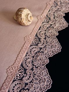 runner detay French Lace, Table Covers, Bed Spreads, Animal Print Rug, Table Runners, Lace Trim, Embroidered Towels, Kitchen Playsets, Placemat