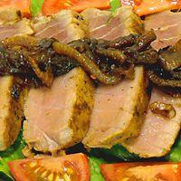 honey lime tuna recipe fish seafood receipt