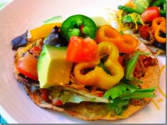 Simply Filling Turkey & Bean Tostadas, 3 points+