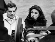 The actors Omar Sharif and Anouk AIMEE in a scene from the film LE RENDEZ-VOUS in April Get premium, high resolution news photos at Getty Images Anouk Aimée, Dr Zhivago, Lawrence Of Arabia, Hollywood, Other Woman, Still Image, Girl Humor, Love Him, Cinema