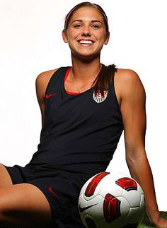 Alex Morgan...US Soccer Team