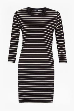Tim Tim Stripe Dress   Dresses   French Connection Usa Stripe Dress, Navy  And White 170c148bc23d