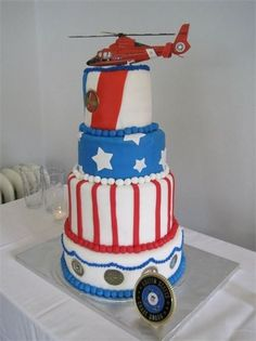 ..Coastie Cakes.. - USCG & Nautical