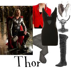 Thor, created by companionclothes on Polyvore