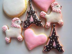 Parisian sugar cookies ~ The Blue Cottage