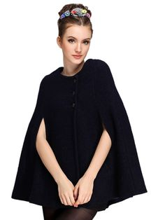 New at Lazaara the Black Wool Blend Cape Coat for only 27,95 € you safe 50%. Available Options: SIZE: S, M, L COLOR: Black https://www.lazaara.com/en/fashion/3344-black-wool-blend-cape-coat.html #Lazaara #Amazing #Shopping #AmazingShopping #LazaaraAmazingShopping