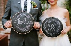 "Adorable wedding ""Thank You"" 