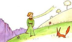 Image result for The Little Prince and the fox
