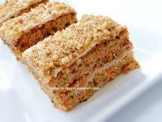 tarif annemin defterinden…mutlaka … walnut-carrot cake recipe is delicious. Snack Mix Recipes, Rice Recipes, Pork Recipes, My Recipes, Dessert Recipes, Desserts, Diy Snacks, Healthy Snacks, Perfect Rice Recipe