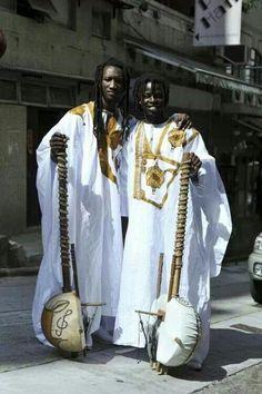 Senegal and men with their Korah,  WOW, beautiful music