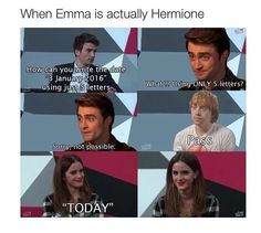 Yes Emma, yes!!