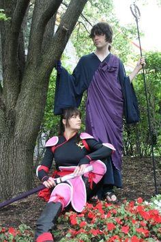 Songo and Miroku cosplay