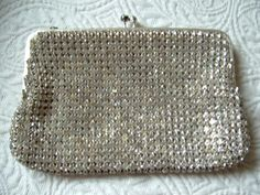 LUV IT!!!!! 1940s Vintage designer rhinestone clutch by ScarlettBouquet
