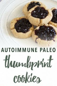 Paleo thumbprint cookies | Empowered Sustenance