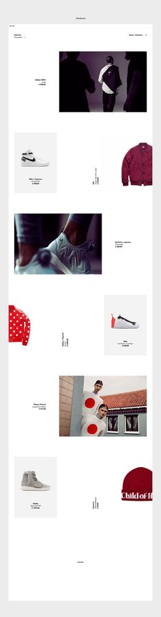 Drop branding and website on Behance