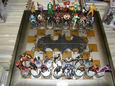 DC Batman chess collection